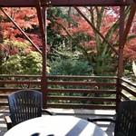 お休み処 桜 売店 - テラス席からの眺め1