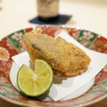 新ばし 星野 - 料理写真:松茸のフライ