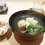 新ばし 星野 - 松茸と鱧の鍋仕立て