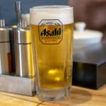 レストラン サダフ - 2018.12 生ビール(400円)アサヒスーパードライ
