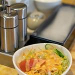 レストラン サダフ - 2018.12 野菜サラダ(無料)