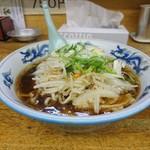 札幌軒 - 醤油ラーメン 少し甘め