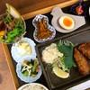菜花 - 料理写真:菜花定食。豆皿が並びます。