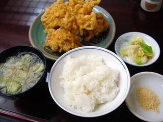 小野木 - 「千鳥揚定食」900円