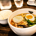 麻辣屋 シャンシャンタン - 料理写真:シャンシャン盛りとライス