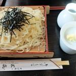 蕎麦処 三喜 - 料理写真:細いうどんのざる