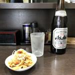 中華そば べんてん - 「ビール中」550円