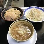 雷神屋 - 料理写真:づけそば(野菜ちょいマシ)