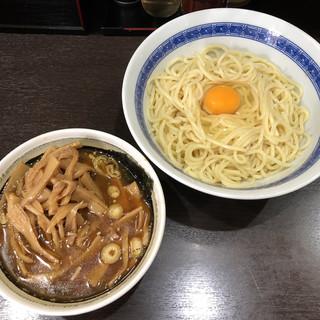中華そば べんてん - 料理写真:「つけ麺・並」850円+「メンマ」200円+「生玉子」50円