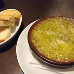 Blanco - 枝豆とシラスとゴルゴンゾーラのアヒージョ + アヒージョ用フォカッチャ