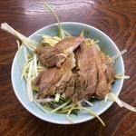 ラーメンショップ - 小ネギチャーシュー丼330円。チャーシューんまー。