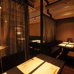 喰心-meat Dining- - 半個室①