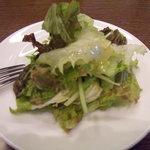ジェノヴァ - ランチセットのサラダ