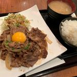 らせら - 十和田バラ焼き(ライス大盛オカワリ無料) 900円