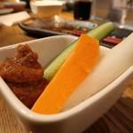 人形町 肉寿司 - お通し