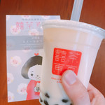 台湾茶Cafe KIKICHA TOKYO - 凍頂烏龍茶タピオカミルクティー 500円