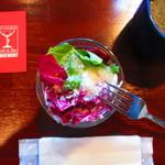 バー ムーブメント - 『サラダ』と『スープ』。
