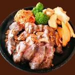 イベリコ豚の炭火ステーキ