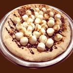 ☆スイーツピッツァ☆焼きマシュマロとチョコレート