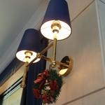 箱根ハイランドホテル ラ・フォーレ - レストラン内のあかり