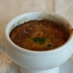箱根ハイランドホテル ラ・フォーレ - オニオングラタンスープ