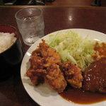 キリンケラーヤマト - 唐揚げ定食600円