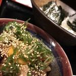 呑みくい処 城下  - 海鮮ユッケ丼 ランチ950円