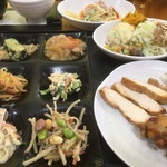 農家食堂 菜々惣 - 料理写真:ランチバイキング(税込980円)(2018.12.現在)