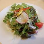 トラットリア ペコレッラ - 三浦野菜のサラダ拡大
