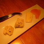 Bacco - チーズの盛り合わせ