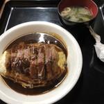 てっぺい - 料理写真:ビーフカツボルガライス 1200円