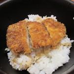 97767957 - ソース味ミニカツ(ヒレ)丼