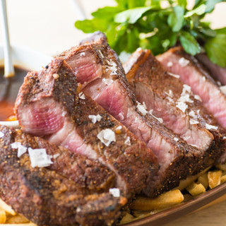 赤身の旨さ凝縮!熟成ステーキをご堪能ください