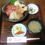 みづ乃 - 海鮮漬け丼三点盛