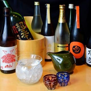 料理に合わせる日本酒やワイン、焼酎も!!