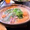 岡崎 二橋 - 料理写真:煮込みうどん 味噌 親子