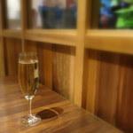 浅草グリルバーグ - スパークリングワイン(480円)