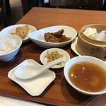 チャイニーズ キッチン 黄老 - ランチセット(黒酢の酢豚)