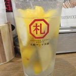 97777576 - 「氷結 塩レモンサワー」(¥350)