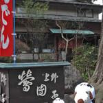 新鶯亭 - 上野動物園の公園側出口を出て すぐのところにある老舗の甘味処だよ。 歩き疲れたのでちょっと休憩。
