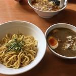 藍華 - つけ麺+味玉900円也