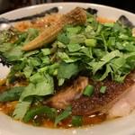 カラシビ味噌らー麺 鬼金棒 - パクチーカラシビ味噌らー麺