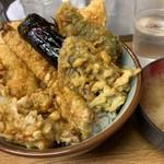 豊野丼 - この日の天丼