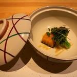 浅葱  - 季節の蒸野菜 酢みそ和え