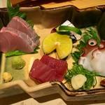 浅葱  - 須崎獲れ 活〆鮮魚四種盛り