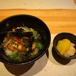 浅葱  - 焼き鮭の鱈子・だし茶漬け餡