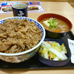 吉野家 - 牛丼特盛×おしんこセット・豚汁変更