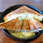 倉式珈琲店 - ハムとチーズのクロックムッシュ