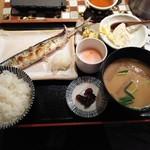 ハナレノミカジノバ - 焼魚定食800円