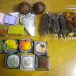 菊月 - 買い求めた和菓子